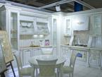 Кухня малая угловая белая
