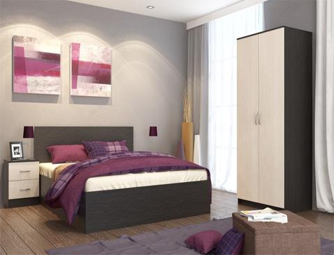 Спальня Ронда большая венге