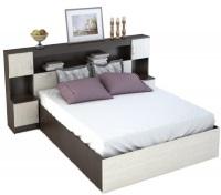 Двуспальная кровать с порталом