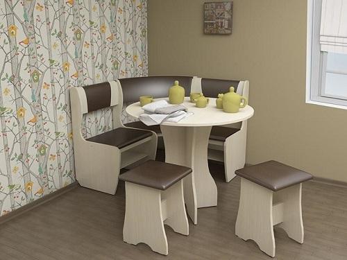 кухонный угол Андрей-1 дуб