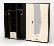 Шкаф Трио с распашными дверями